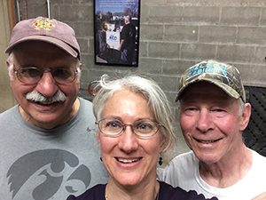 Selfie of Three Volunteers